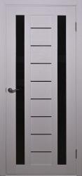 Двери Alegra-4 черное стекло