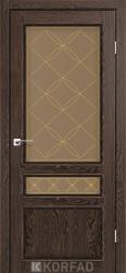 Двери Classico CL-05 (бронза+рис.М-2)