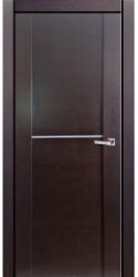 Двери Милано D2 1, венге, ПГ, молдинг