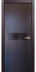 Двери Милано D2, венге, ПГ