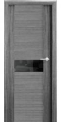 Двери Милано D2, дуб серый, ПГ