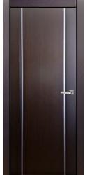 Двери Милано D2 2, венге, ПГ, молдинг