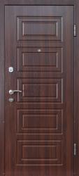 Двери М-2 (МДФ/МДФ) орех темный