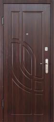 Двери М-4 (МДФ/МДФ) орех темный