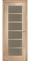 Двери Аркадия 11.5, беленый дуб, ПО