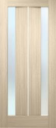 Стелла ПВХ (стекло сатин дуб беленн