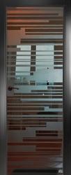Двери СКС графит №06