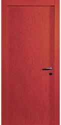 Двери Сердечки, красная эмаль, ПГ