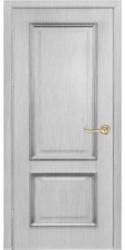 Двери Премиум, белая патина, ПГ, ПО