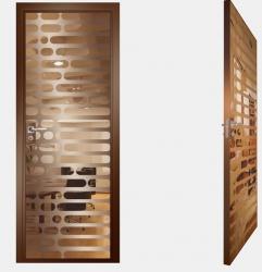 Двери СКС бронза №01