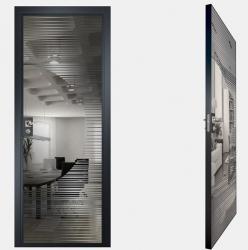 Двери СКС графит №13