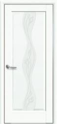 Двери Волна ПО Р2 (белый матовый)