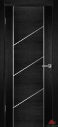 Двери   Флэш 12 черн. ясень