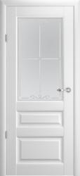 Двери Эрмитаж 2 белый мат ПО