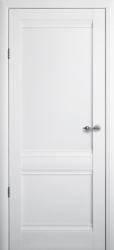 Двери Эрмитаж 2 белый мат ПГ