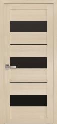 Двери Лилу (черное стекло)