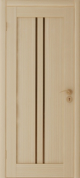 Двери Вертикаль У ПГ выбеленный дуб