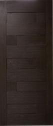 Двери Домино ПГ ПВХ (венге)