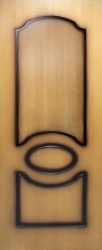 Двери   Виктория ПГ (миланский орех)