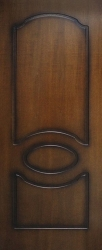 Двери Виктория ПГ (лесной орех)