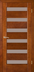 Двери Модель 136 дуб браун ПО