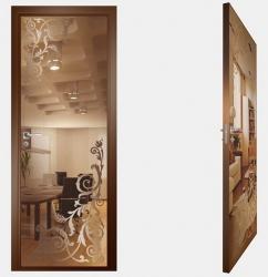 Двери СКС бронза №05