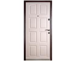 Входная дверь ДУЭТ-112 Дуб Мокко-Кашемир