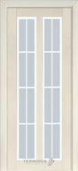 """Двери """"Модель 117"""" ПО ясень крем"""