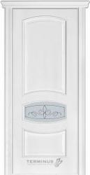 """Двери """"Модель 50"""" ПО ясень белый"""
